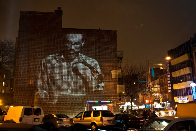 J. Robert Lennon on the big wall